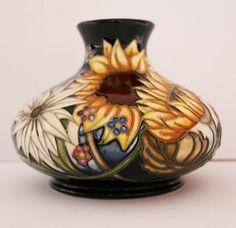 Moorcroft Pottery Sandbach Bouquet Vase Pot 32/5 Numbered Ed Vicky Lovatt New   eBay