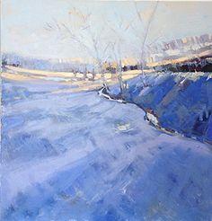 Isabelle Abbott ~ Field, Winter Light,