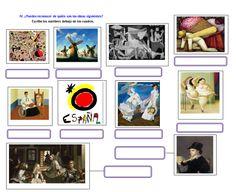 Pintores hispanohablantes Actividad en: http://espagnol.hispania.over-blog.com/article-pintores-122241963.html