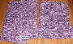 Pottery Barn Teen Mini Dot Polka Purple White Twin Flat Sheet PIllowcase Bedding #PotteryBarnTeen