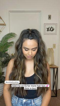 Work Hairstyles, Easy Hairstyles For Long Hair, Cheer Hairstyles, Wedding Hairstyles, High Ponytail Hairstyles, Hairdos, Updos, Look Girl, Aesthetic Hair