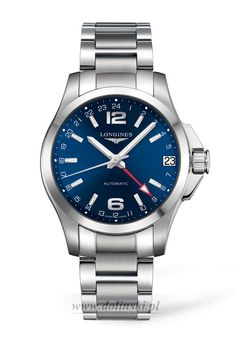Longines Conquest Automatic GMT