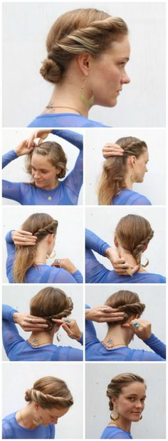 How To Hair - DIY Hair Resource From How To Hair Girl | #DIYhair Friday! A little twist on the 3rd day......