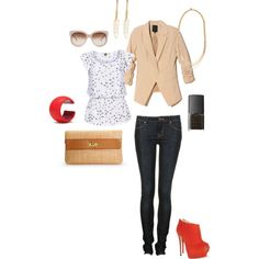 Sparrows, created by rachelwenger on Polyvore
