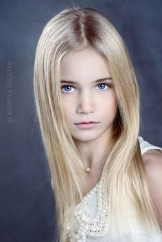 Marta Krylova, is a Russian child fashion model from Moscow . . .