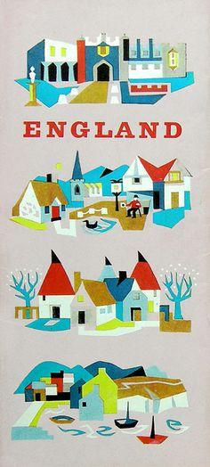 England #grafica #illustrazione #vintage
