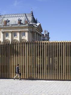 Pavillon / Château de Versailles - EXPLORATIONS ARCHITECTURE