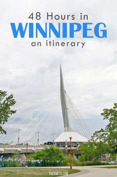Head to Winnipeg, Canada for your next weekend escape. From delicious foods to fascinating history here is how to spend 48 hours in Winnipeg. Travel Sights, Places To Travel, Travel Destinations, Places To Visit, Travel Stuff, Canada Summer, Canada Trip, Visit Canada, Viajes