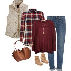 A fashion look from October 2014 featuring Best Mountain sweaters, La Fée Maraboutée blouses and J.Crew vests. Browse and shop related looks.