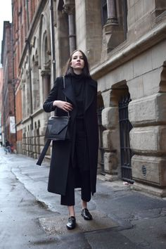 the boo and the boy: the oversized wool coat