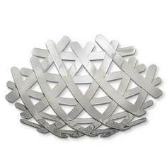 Stainless steel fruit bowl...