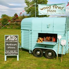 Mobile pizza wood burning oven! We need this to take our pizza to cool events!