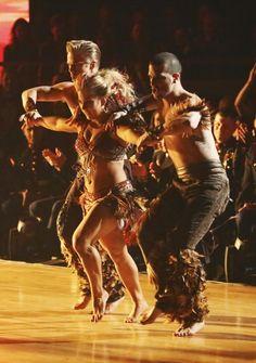 Dancing With The Stars: All-Stars Week 8 Seriously, fantastic. Derek Hough, Shawn Johnson, Mark Ballas