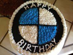 BMW cake. Carrot Cake
