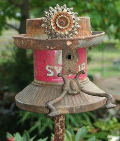 birdhouse Birdhouse So Cute!!!  I love bird houses! I LOVE these beautiful bird houses! Recycled birdhouse