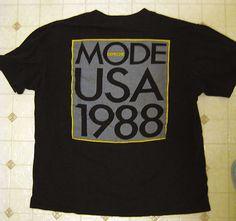 Depeche Mode Usa tour '88