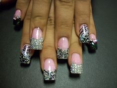kAoTik Nail Designs by April Davidson, 559-908-1867. Add me on Facebook www.facebook.com/