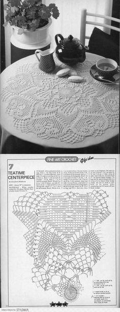 Several Doily Patterns Filet Crochet, Crochet Doily Diagram, Crochet Doily Patterns, Crochet Art, Crochet Home, Thread Crochet, Love Crochet, Crochet Motif, Beautiful Crochet