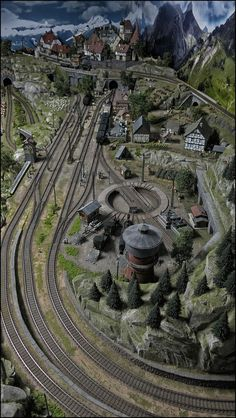 Beautiful scenery and track work onnthe nice indoor layoutYou can find Model trains and more on our website.Beautiful scenery and track work onnthe nice indoor layout N Scale Model Trains, Model Train Layouts, Fleischmann N, Train Ho, Ho Scale Train Layout, Train Miniature, Escala Ho, Model Railway Track Plans, Garden Railroad