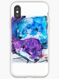 Ich habe ein tattoo für mami gemacht • Also buy this artwork on phone cases, apparel, stickers und more. Otter, Shops, Iphone, Phone Cases, Design, Stuff To Buy, Shopping, Watercolors, First Tattoo
