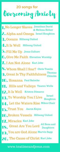 Worshiping can often keep us from worry and anxiety. Read on to find out more about how to use worship to keep you from worrying. songs 20 Songs To Help You To Overcome Anxiety Music Mood, Mood Songs, Songs For Anxiety, Christian Music Playlist, Praise And Worship Songs, Jesus Culture, Understanding Anxiety, Overcoming Anxiety, Musica