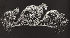 Wave Tiara by Boucheron, Circa 1910
