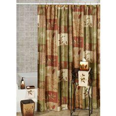 Sheffield Leaf Shower Curtain And Hooks Accessories Diy Bathroom Decor Ideas