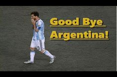 Lionel Messi Leaving Argentina #Thanks Legend - http://bzfd.it/292ttqq