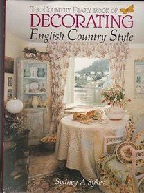 'The Country Diary Book of Decorating English Country Style' (1990) by English designer & teacher Sydney A Sykes.Inspired by Edith Holden's watercolors from 'Diary of an Edwardian Lady', the book is divided into seasons, each with appropriate designs relating to all areas of home decoration. Special emphasis is placed on the sympathetic interpretation of the colors & imagery of nature through the seasons. Includes specially commissioned photographs, detailed drawings with informative…