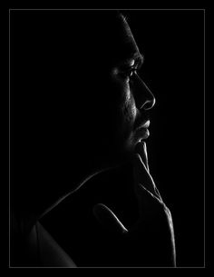 Lost in Thoughts (by Rajasekar A) [black] [silhouette]