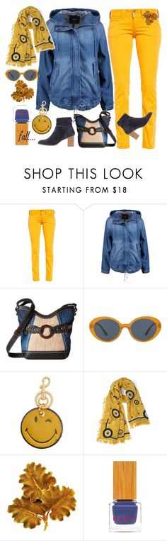 """""""Sporty fall?"""" by amisha73 ❤ liked on Polyvore featuring b.o.c. Børn Concept, Oliver Peoples, Anya Hindmarch, Slater Zorn, Mario Buccellati and Habit Cosmetics"""