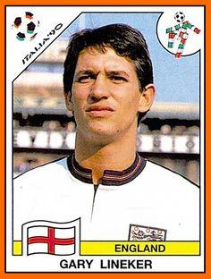 Gary Lineker poos himself at World Cup 1990 Football Is Life, Retro Football, World Football, Soccer World, Football Cards, Football Stickers, Uefa Football, National Football Teams, England Football Players