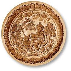 St. Luke the Evangelist springerle cookie mold