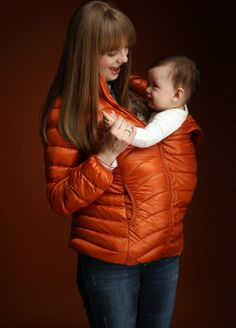 Ultra Light Maternity & Babywearing Down Jacket - New Arrivals - Mamaway Australia