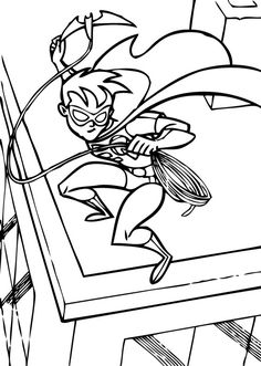 robin coloring page there is a new robin in coloring sheets section check it out in batman coloring pages print out and color this robin coloring