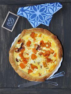 Sütőtökös fetás leveles tészta, ki kéne próbálni Pumpkin Quiche, Naan, Feta, Pie, Desserts, Torte, Tailgate Desserts, Cake, Deserts