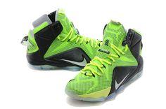 Nike Lebron 12 Volt Black