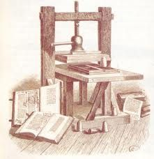 la imprenta fue uno de los pocos aspectos positivos que se recibieron en el siglo XVIII
