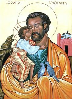 Saint Joseph, patron saint of Fathers, families, the Catholic church, and Korea