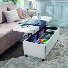 Davis Lift Top Storage Ottoman In 2019 Small Storage