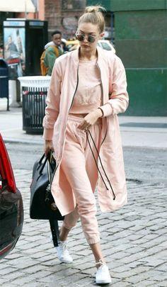 Street style look Gigi Hadid