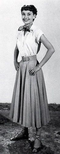 Audrey Hepburn in Roman Holiday