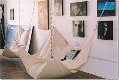 Bean bag hammock