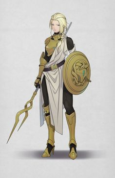 Athena , lv chenglin - Helamphos soldier's armor - Fantasy Character Design, Character Creation, Character Design Inspiration, Character Concept, Character Art, Character Ideas, Dnd Characters, Fantasy Characters, Female Characters