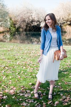 Love this blog - she shows how to refashion clothes that are too big.