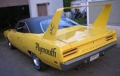 1970 Plymouth Superbird Brought to you by agents of car insurance at Plymouth Superbird, Plymouth Cars, Dodge Muscle Cars, Best Muscle Cars, Chrysler Cars, Ford Classic Cars, Lifted Ford Trucks, Pontiac Firebird, Dodge Charger