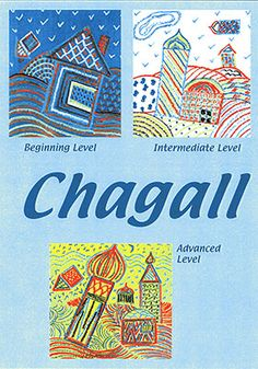 Chagall Art Projects for Kids: The colorful, imaginary world of Marc Chagall is explored through his fascinating paintings. The students explored patterns and color theory in this lesson. Our young artists use oil pastels to create enchanted villages in the Chagall style.