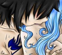 Gruvia Week, Day 1: Hair. by charswarrenxo on DeviantArt