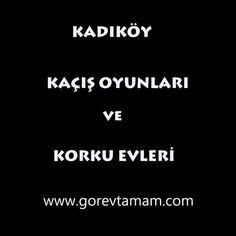 Kadıköy İlçesindeki Evden Kaçış Oyunları