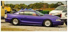 A Purple Pony Car by TheMan268